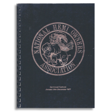 NHOA Second Annual Yearbook 1977