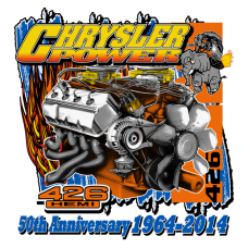 426 Hemi 50th Anniversary Chrysler Power T-Shirts