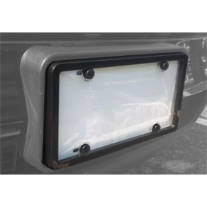 License Plate Frame and Tough Shield Kit