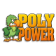 "Poly Power 3"" x 5"" Window Cling Decals"