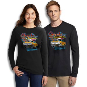 Vintage Chrysler Power Satellite Long Sleeve T-Shirts