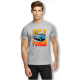 Poly Power Gray T-Shirts Overstock Sale!
