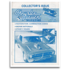 Chrysler Power First Issue, 1984