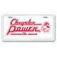 Chrysler Power License Plates