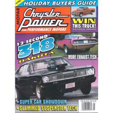 Chrysler Power Jan, 1998