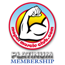 Mopar Muscle Club Platinum Membership