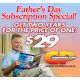 2 Year Father's Day CP Subscription Special (USA ONLY)