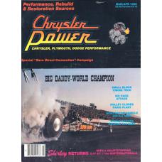 Chrysler Power Mar/Apr, 1986