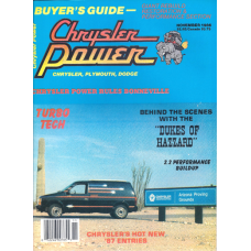 Chrysler Power Nov, 1986