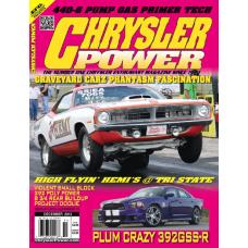 Chrysler Power Nov/Dec 2013 (Single)