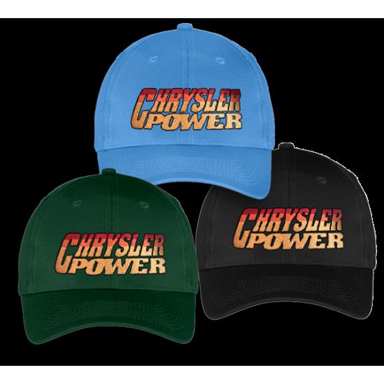 87dd898e77ff9 Chrysler Power Sunset Logo Ball Cap